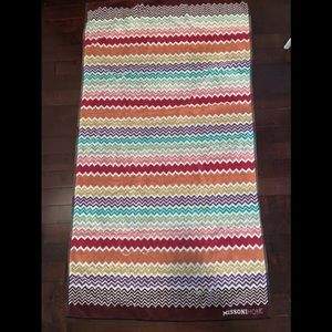 Missoni Home cotton towel NWOT